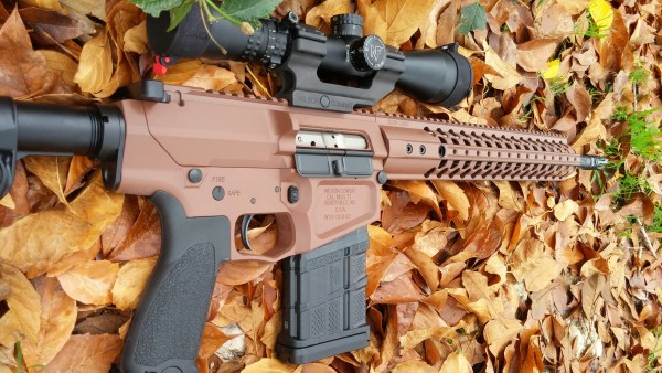 "Wilson Combat AR10 308 18"" Recon in Federal Brown"