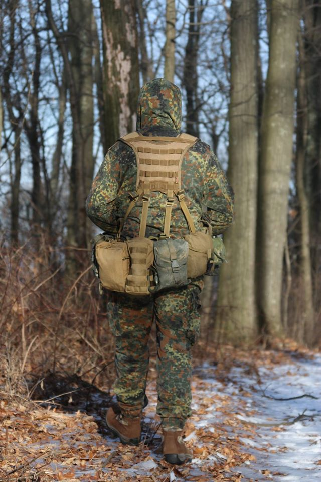 British Tactical 3-Row Hippo Belt and Yoke – Field Testing