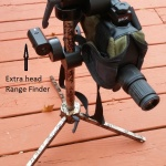 Leupold Mark 4 H32 spotter and Sniper Ops Tactical Tripod