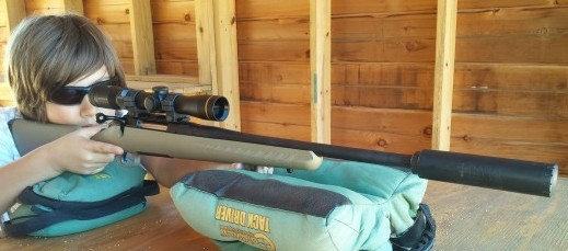 Ruger American Ranch Compact 300 Blackout with Leupold VXR 2-7 and Templar Tactical Nemesis30