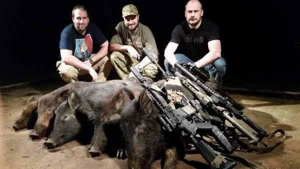 Griffin Armament - Silencer Shop - Pipe Hitters Union - Tactical Gun Review hog hunt Spring 2015
