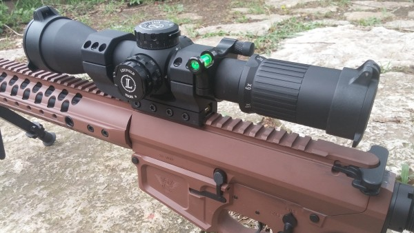 AAD 34mm mount, Leupold Mark 6, Wilson Combat 308