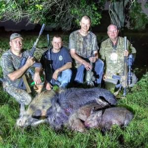 TGR LoneStarBoars and SilencerShop pig hunt May 2015