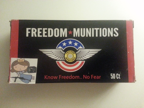 Freedom Munitions Remanufactured 40 S&W Ammo Review