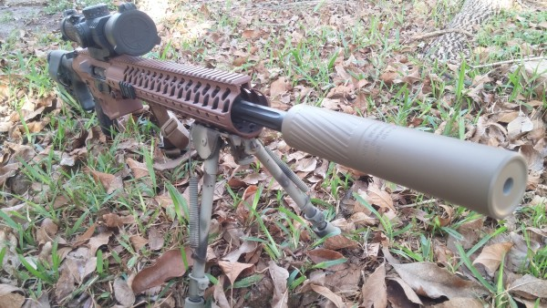 Thunderbeast Ultra 7 on Wilson Combat 308