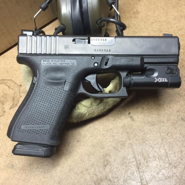 Glock 19 with Grip Work