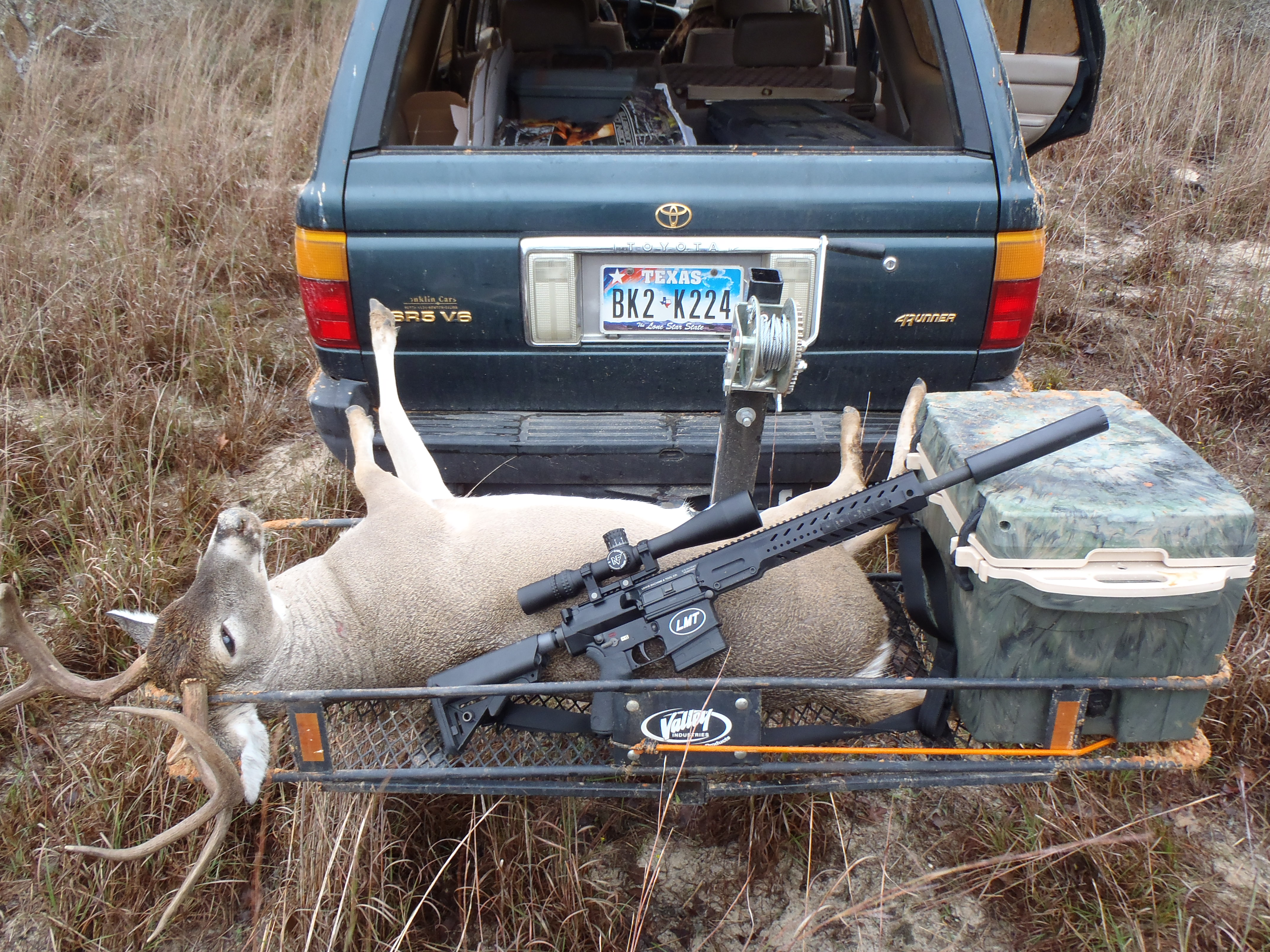 Hunting with the LMT LM8MWS 308 | Texas Outdoors