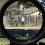 Leupold VX6 1-6 Multigun Firedot G BDC reticle picture at 1x at 25 yards.jpg
