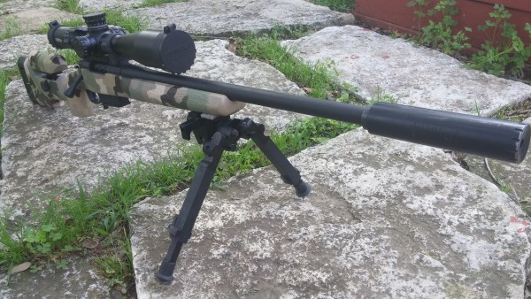 Southern Preciscion Rifles 6.5 Creedmoor with Crux Nemesis30