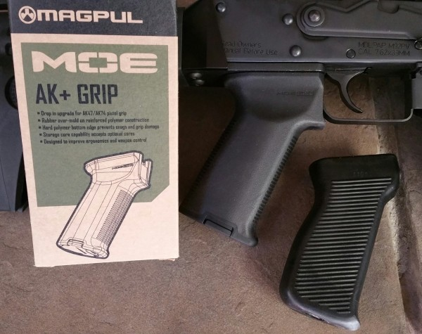 If you do nothing else buy this Magpul AK+ grip. Well worth every penny.