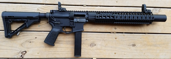 Spike's Tactical Integrally Suppressed 9mm AR Review