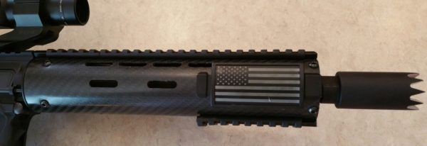 Carbon fiber handguard that for Chinese has been really nice.