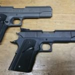 Two LAR Grizzly 44 Mag Pistols: A Comparison