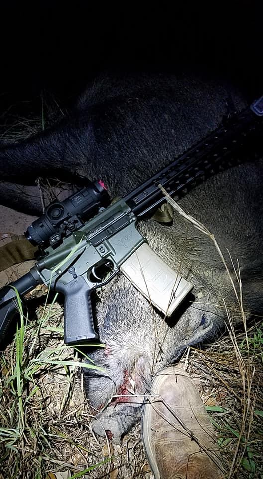 Trijicon Reap-IR Thermal with big pig