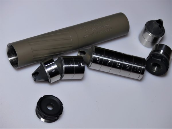 Thunderbeast Takedown 22 Rimfire silencer