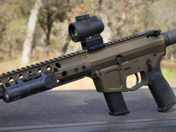 Wilson Combat AR9 with Trijicon MRO