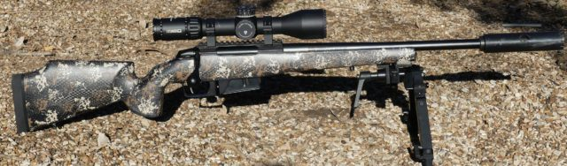 Tikka CTR in McMillan Game Hunter