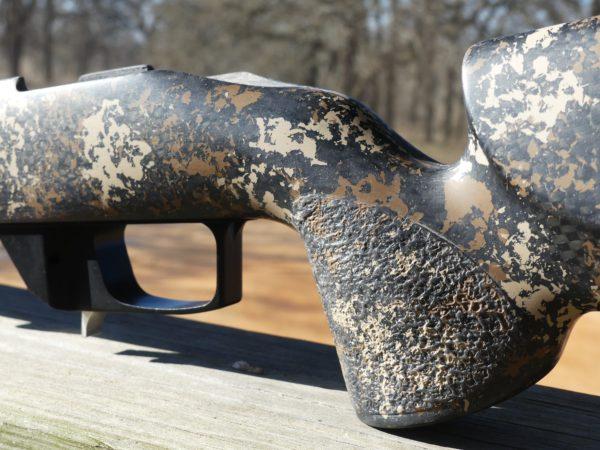 McMillan Game Hunter in Desert Camo  pistol grip