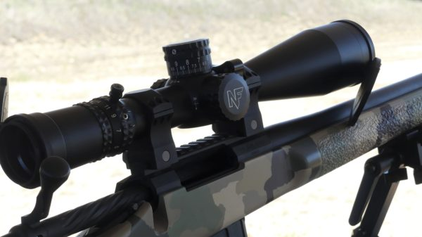 Nightforce ACTAR 5-25x56 F1 Mil-C Great scope on a custom 6.5 Creedmoor