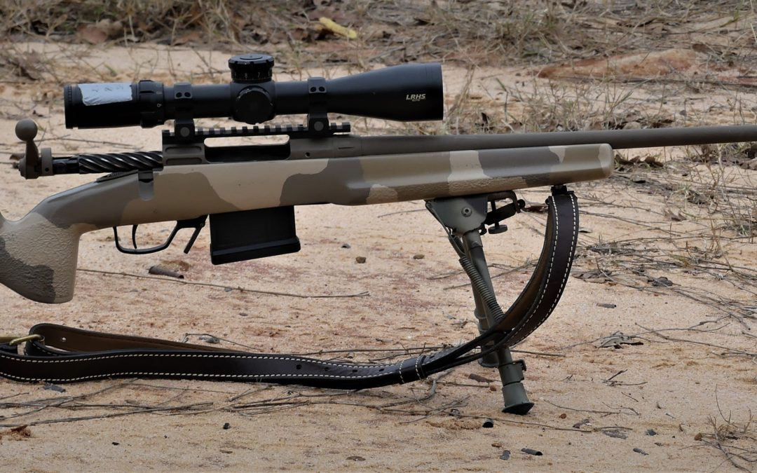 Project: 7mm08 lightweight hunting rifle, custom Savage.