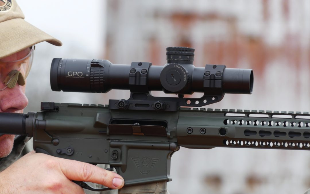 GPO (German Precision Optics) 1-8 Tactical Scope Review