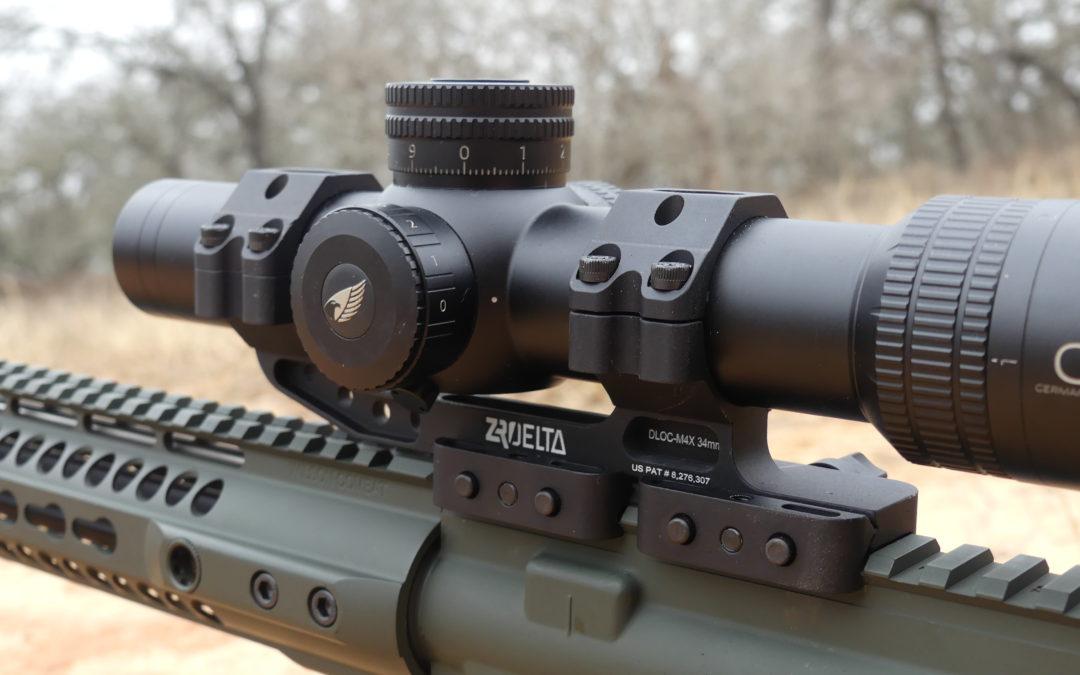 ZRODelta DLOC-M4 34mm Optic Mount