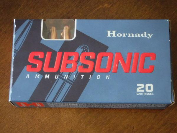 Hornady Sub-X Blackout