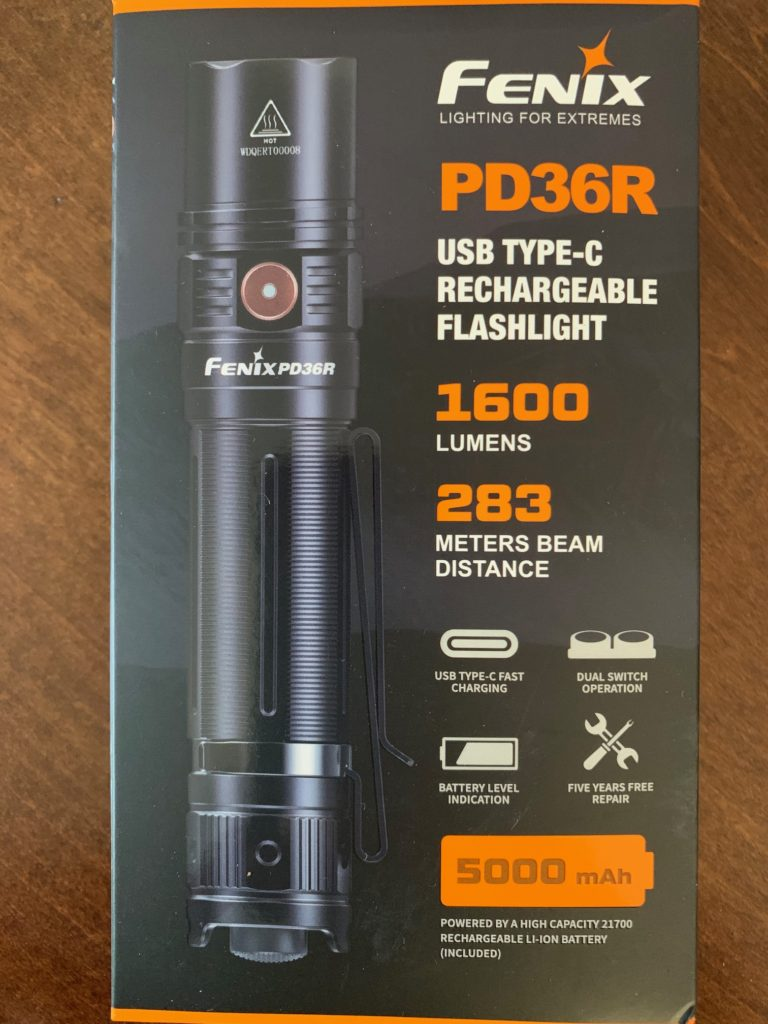 Fenix PD36R Flashlight
