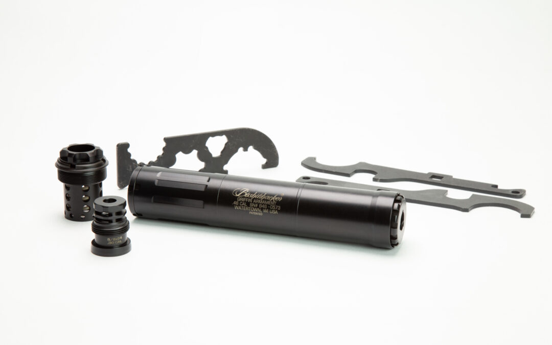 Griffin Armament releases the Bushwacker 46 Gen 2 silencer.