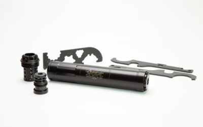 Griffin Armament releases the Bushwacker 46 Gen 2 silencer.